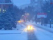 Зимнее утро в Мелитополе 15.01.2018
