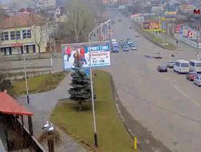 ДТП на перекрестке ул. Гетьмана Сагайдачного и пр. Б. Хмельницкого 4 февраля 2019г.