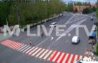 Яркая разметка на дорогах Мелитополя