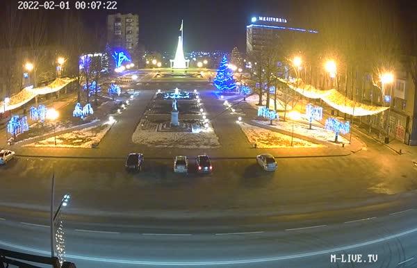 Веб камера Мелитополь онлайн площадь Победы