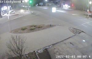Камера 12. Перекресток ул. Гризодубовой с ул. Ломоносова