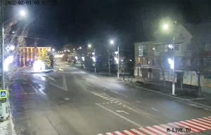 Камера 7. Центральный вход в парк им. Горького - ул.Героев Украины (обзорная)