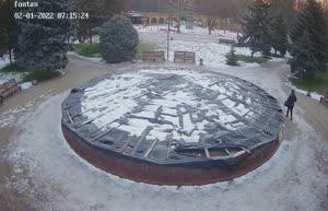 Камера 21. Парк Горького. Фонтан